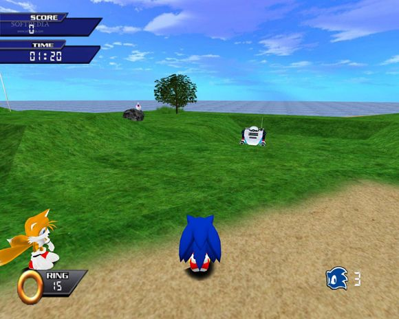 sonicthehedgehog3ddemo6 Sonic the Hedgehog 3D Demo