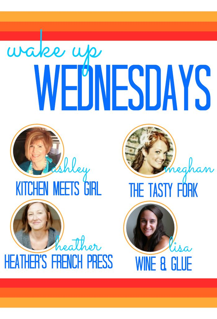 Wake Up Wednesdays Link Party, starts Tuesdays @ 8pm CST. Link up recipes, crafts and DIY projects