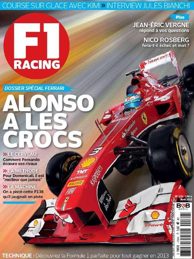 F1 Racing N°170 Avril 2013