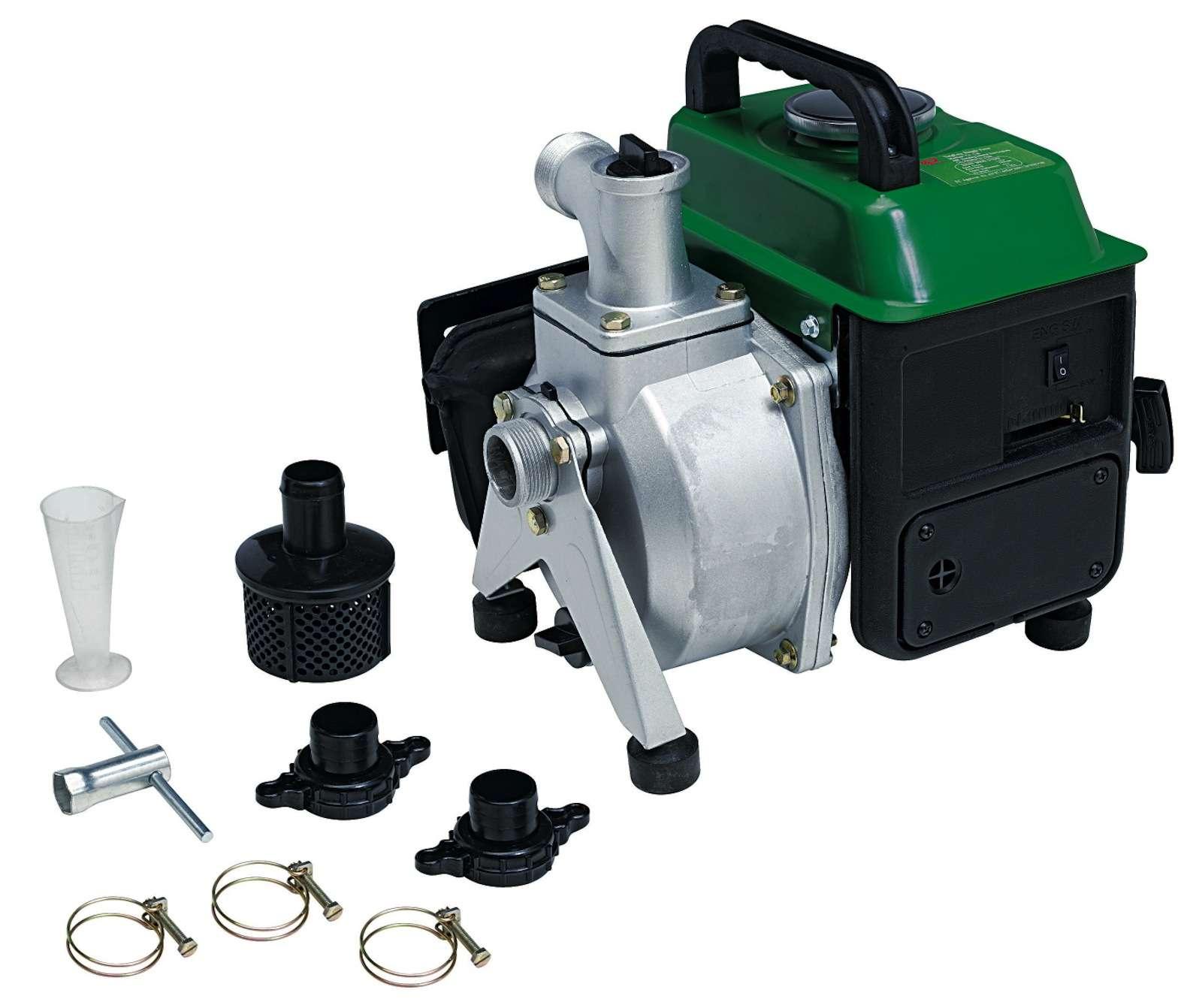 pompe a eau thermique 63 cc 2 hp 18m3 h motopompe portable. Black Bedroom Furniture Sets. Home Design Ideas