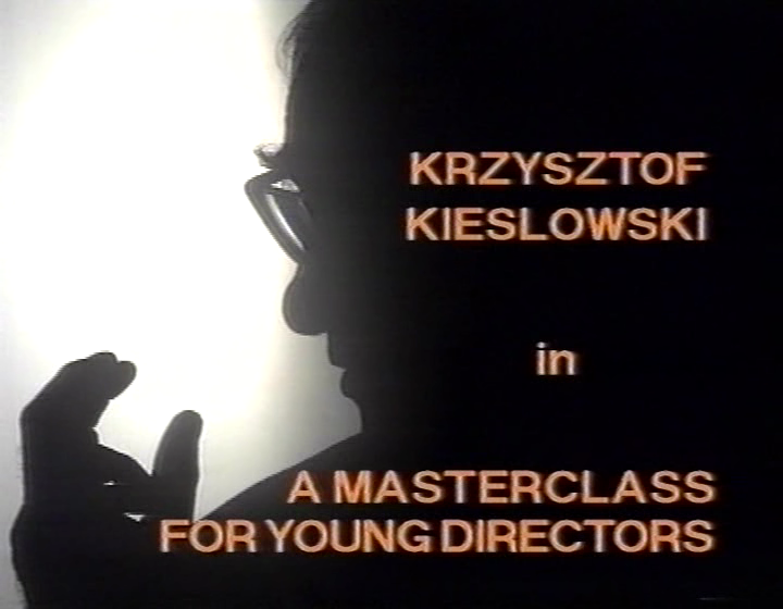 vlcsnap2011022319h00m15 Erik Lint   Krzysztof Kieslowski: A Masterclass for Young Directors (1995)