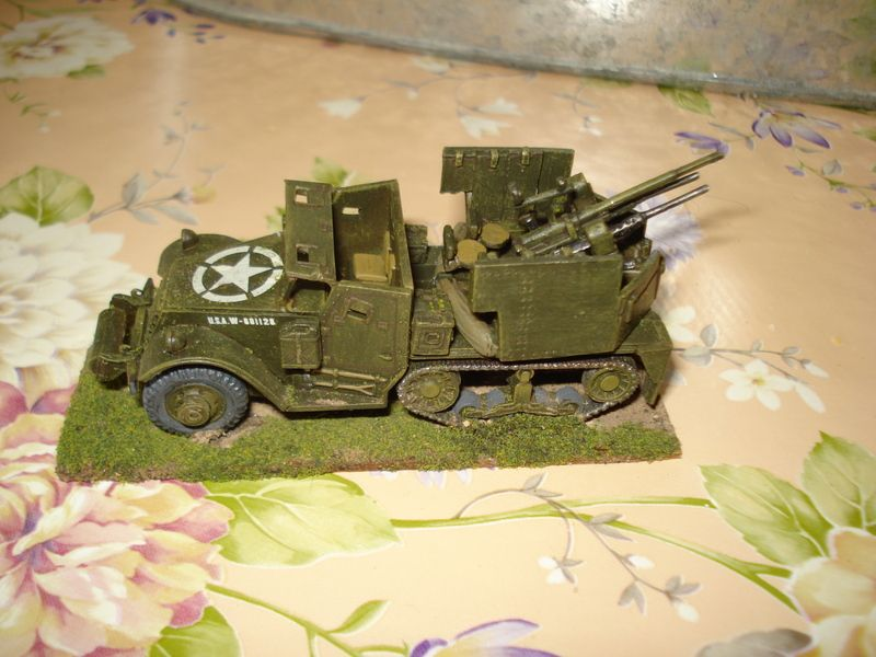 Benno's Figures Forum • Airfix half track converted to m14 AA